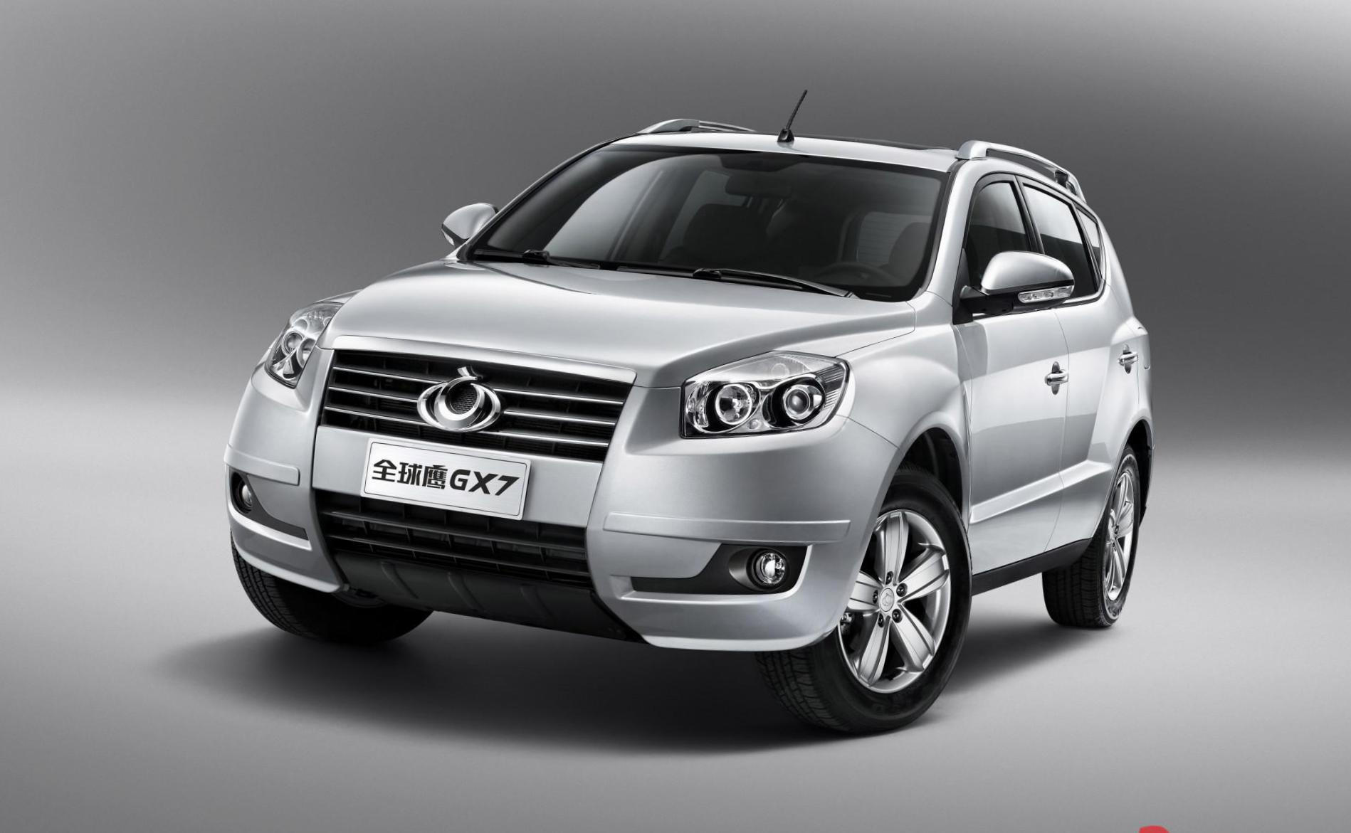 GX7 Geely reviews 2008