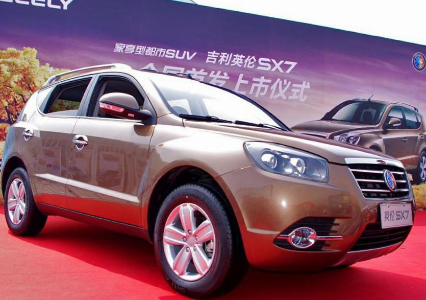 Geely SX7 Specifications 2014