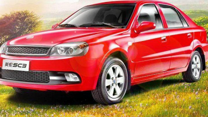Geely SC3 Specifications 2012