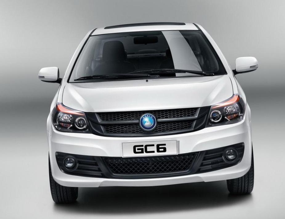SL Geely models hatchback