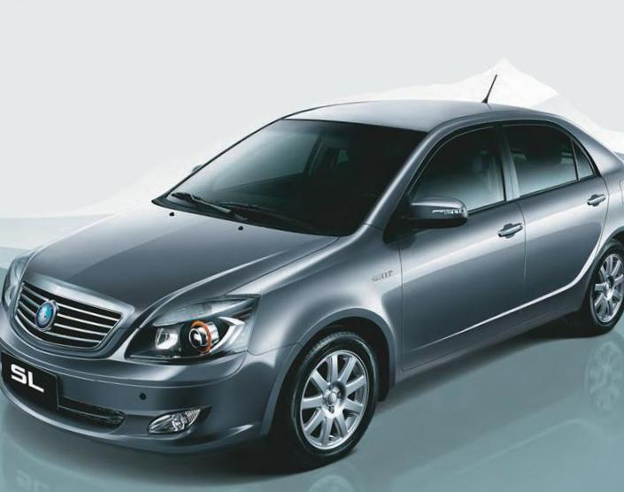 SL Geely sale 2014