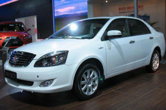 SL Geely tuning 2007