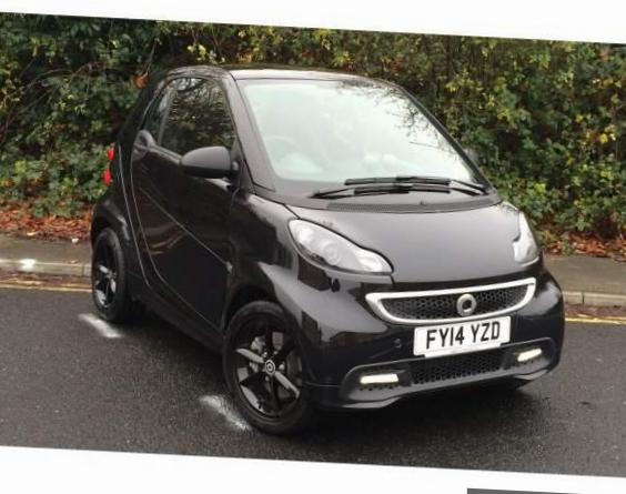 fortwo coupe smart used 2012