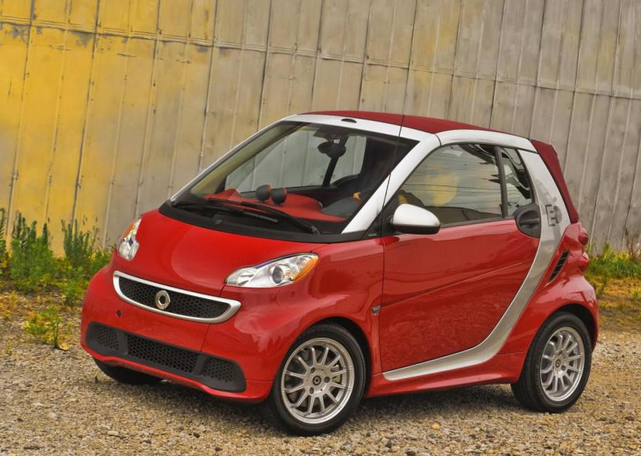 smart fortwo coupe model wagon