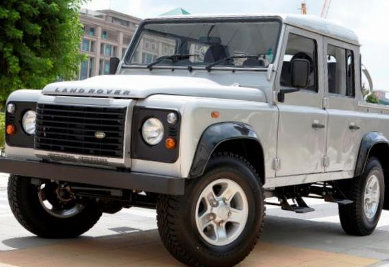 Land Rover 110 Double Cab Pick Up for sale 2011