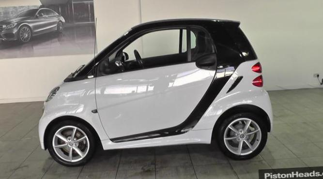 fortwo coupe smart review 2014