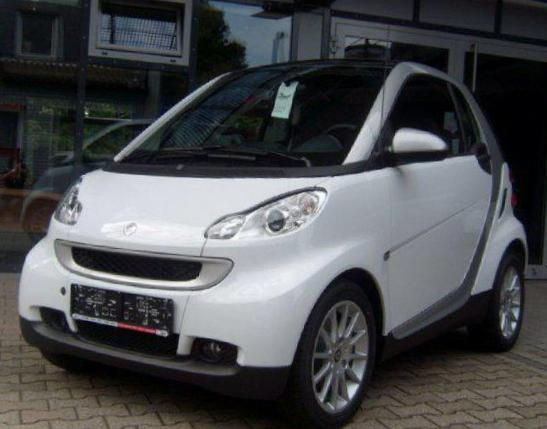 fortwo coupe smart used 2008