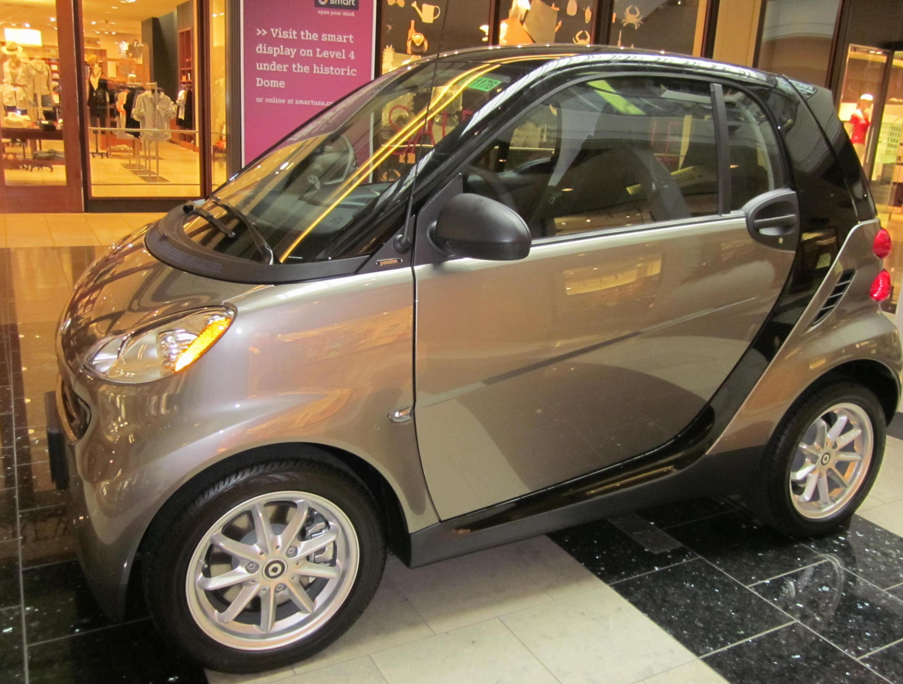 smart fortwo coupe approved 2015