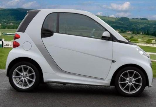 smart fortwo coupe configuration 2014