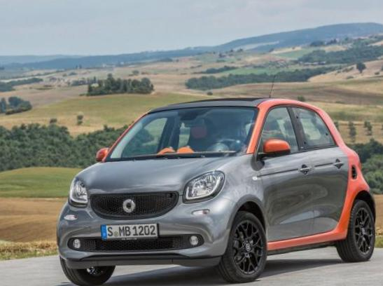 smart forfour cost 2011
