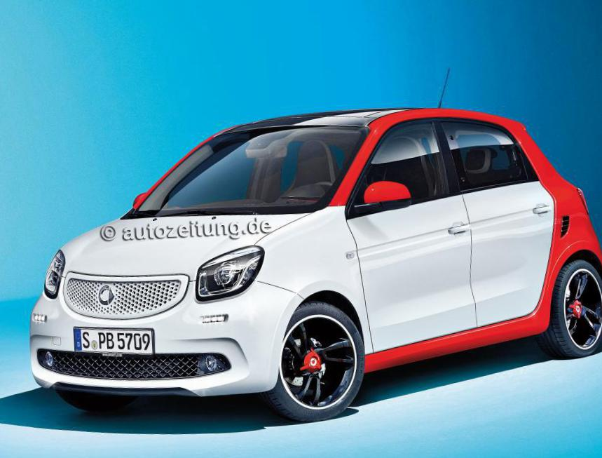 smart forfour parts wagon