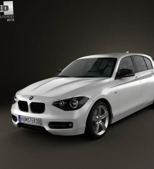 1 Series 5 doors (F20) BMW how mach 2012