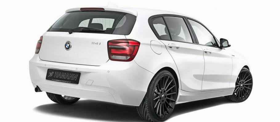 1 Series 5 doors (F20) BMW spec 2012
