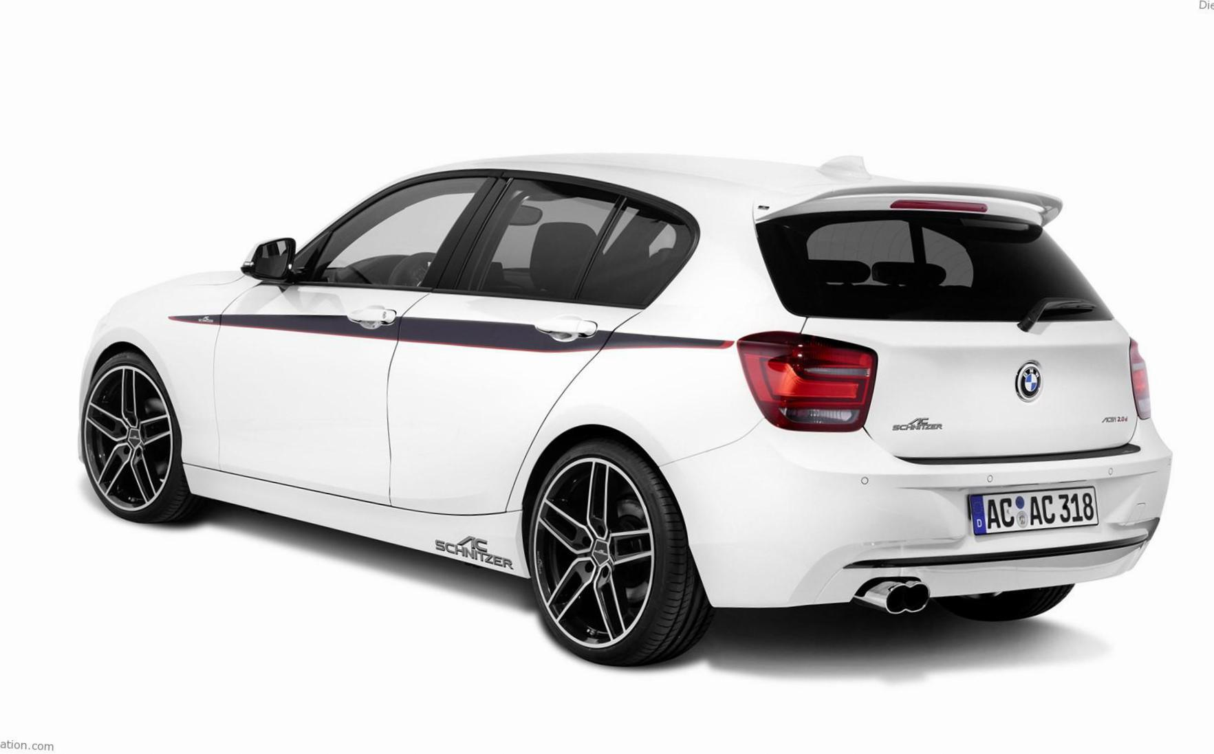 BMW 1 Series 5 doors (F20) models hatchback