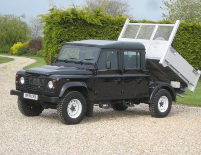 130 Double Cab Pick Up Land Rover tuning sedan