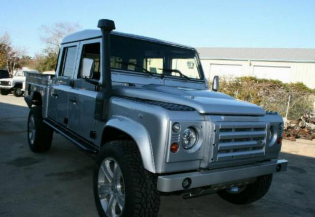 Land Rover 130 Double Cab Pick Up new hatchback