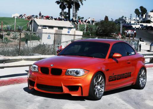 BMW 1 Series Coupe (E82) concept hatchback