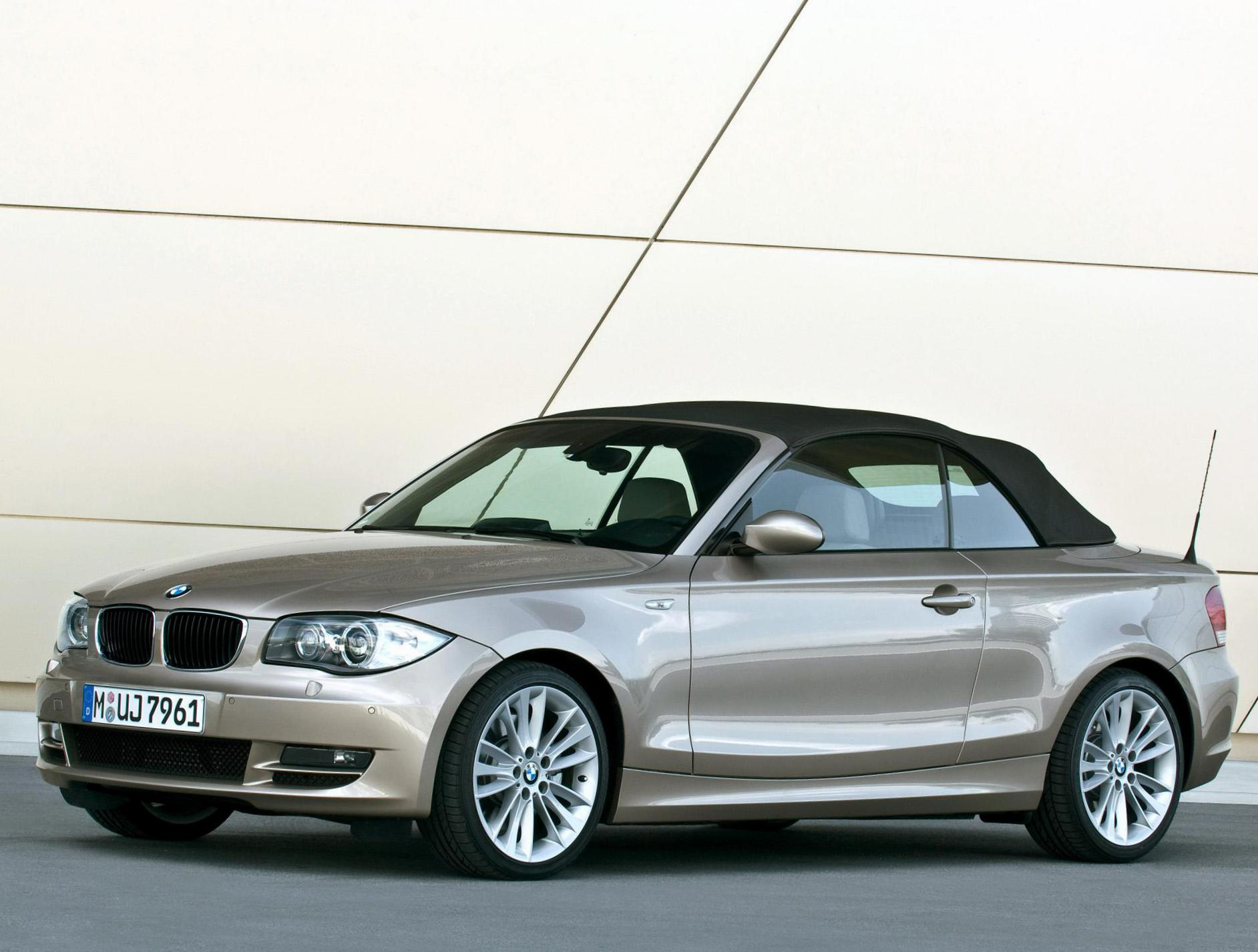 BMW 1 Series Cabrio (E88) Specifications hatchback