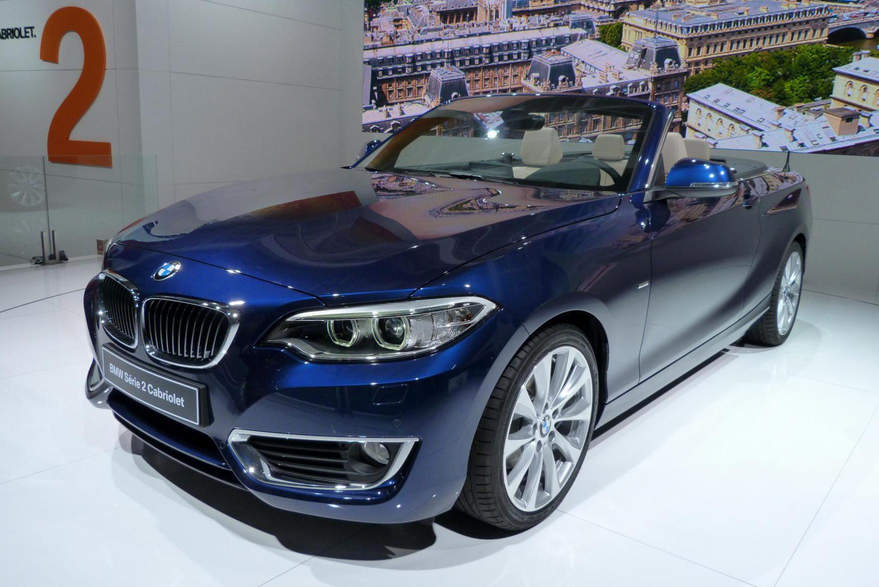 2 Series Convertible (F23) BMW configuration 2010