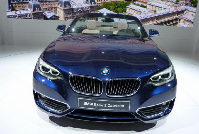 BMW 2 Series Convertible (F23) cost 2013