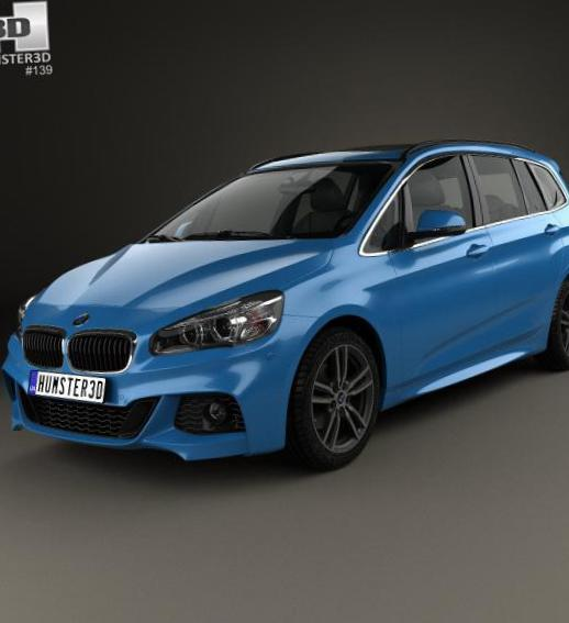 BMW 2 Series Gran Tourer (F46) configuration 2012