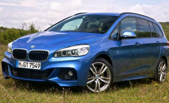 BMW 2 Series Gran Tourer (F46) how mach sedan