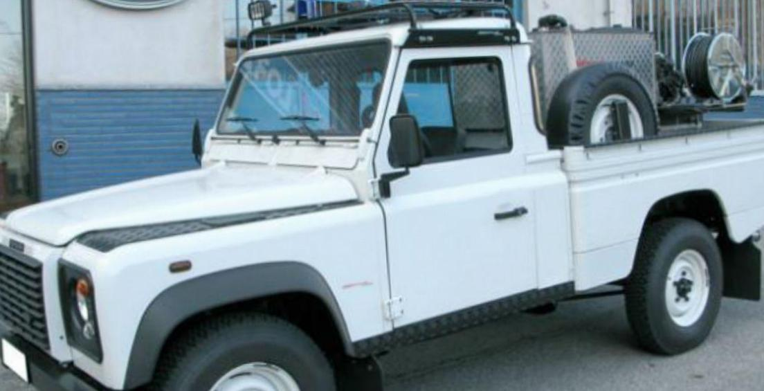 110 High Capacity Pick Up Land Rover usa suv