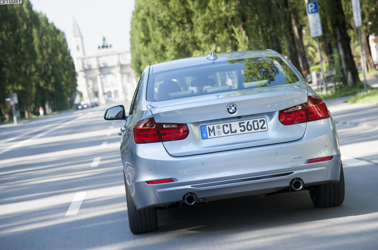 3 Series ActiveHybrid (F30) BMW configuration 2013