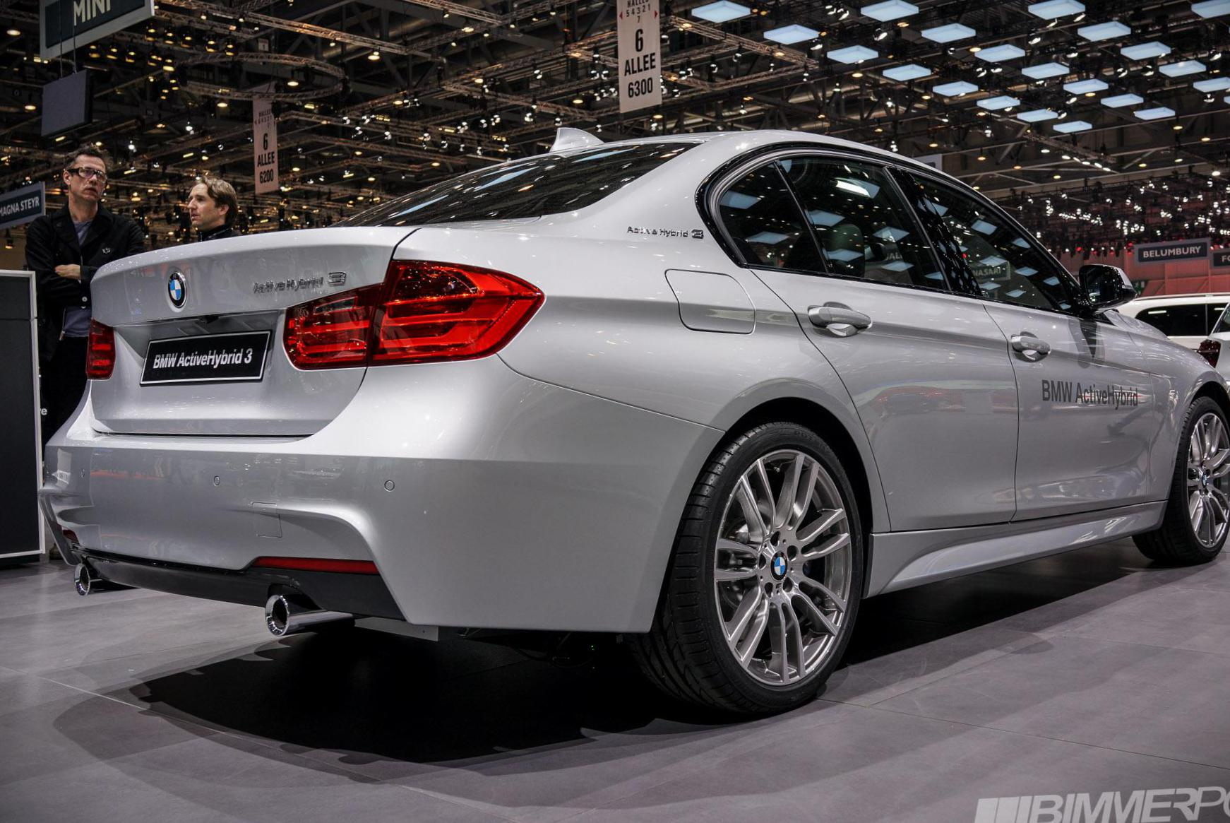 BMW 3 Series ActiveHybrid (F30) approved sedan