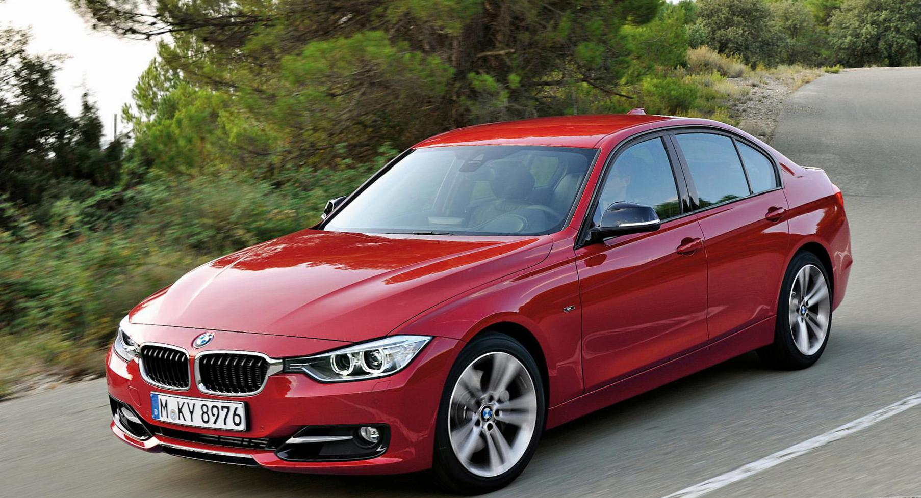 3 Series Sedan (F30) BMW Characteristics suv