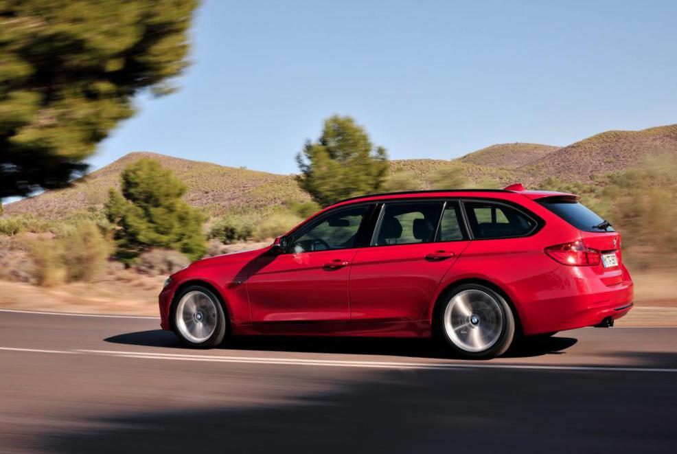 3 Series Touring (F31) BMW configuration wagon
