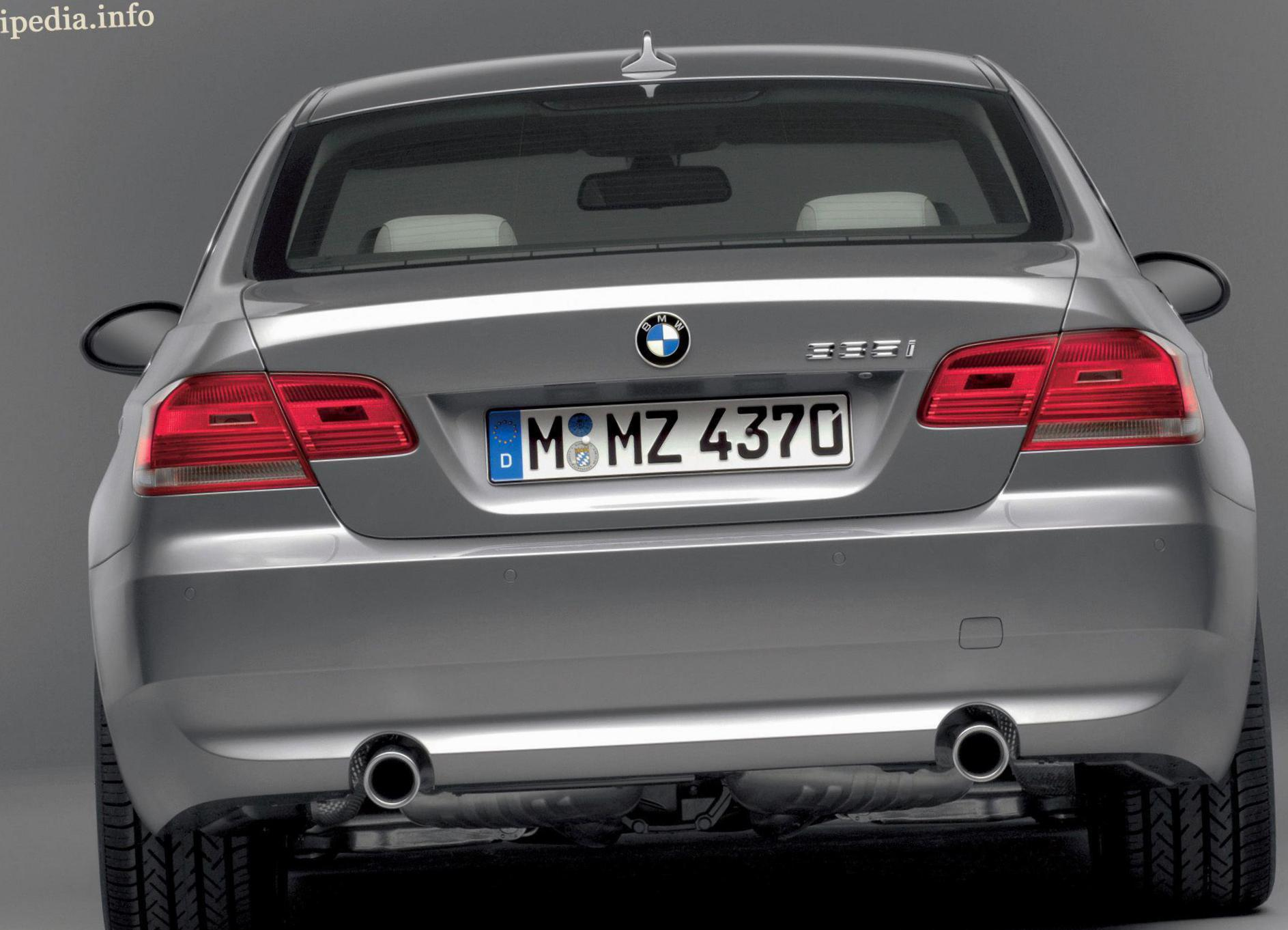BMW 3 Series Coupe (E92) spec 2014