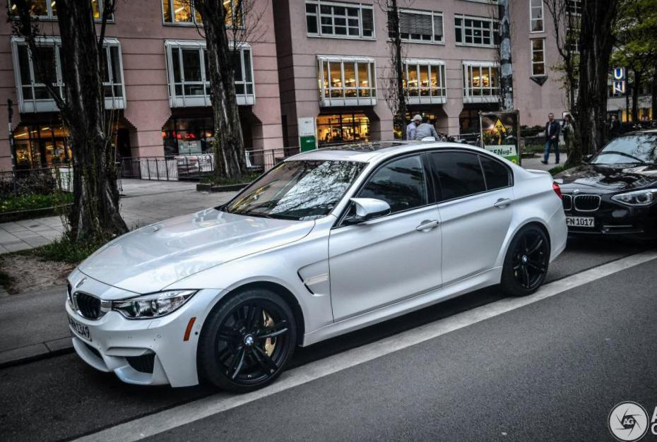 BMW M3 Sedan (F80) how mach suv