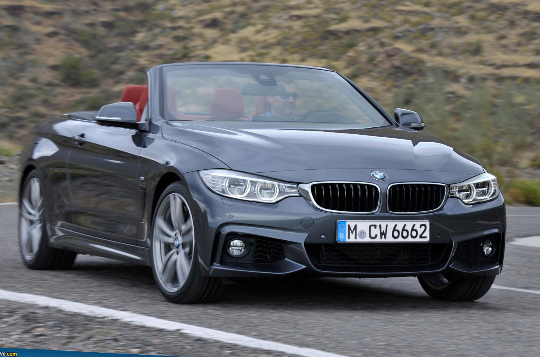 4 Series Convertible (F33) BMW concept hatchback