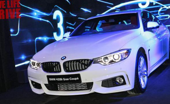 BMW 4 Series Gran Coupe (F36) Specification coupe