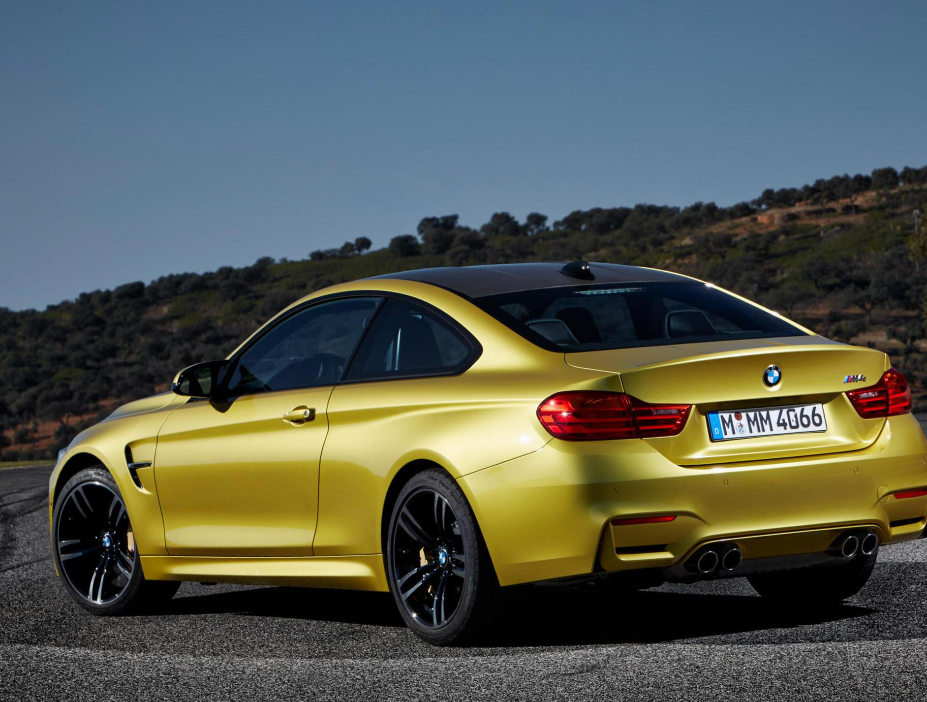 BMW M4 Coupe (F82) models hatchback