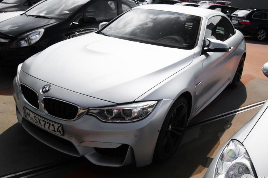 BMW M4 Convertible (F83) configuration 2014