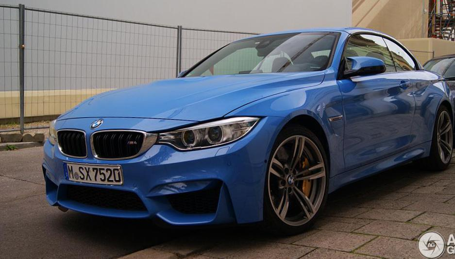 BMW M4 Convertible (F83) sale 2009
