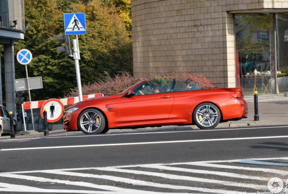 BMW M4 Convertible (F83) usa 2007