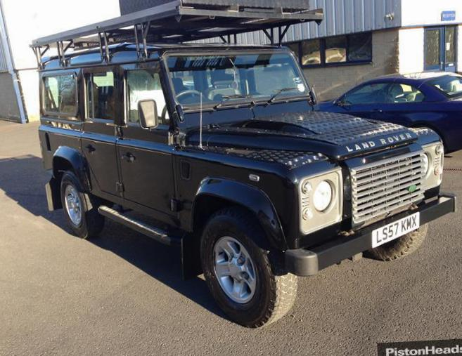 Land Rover 110 Station Wagon spec 2005