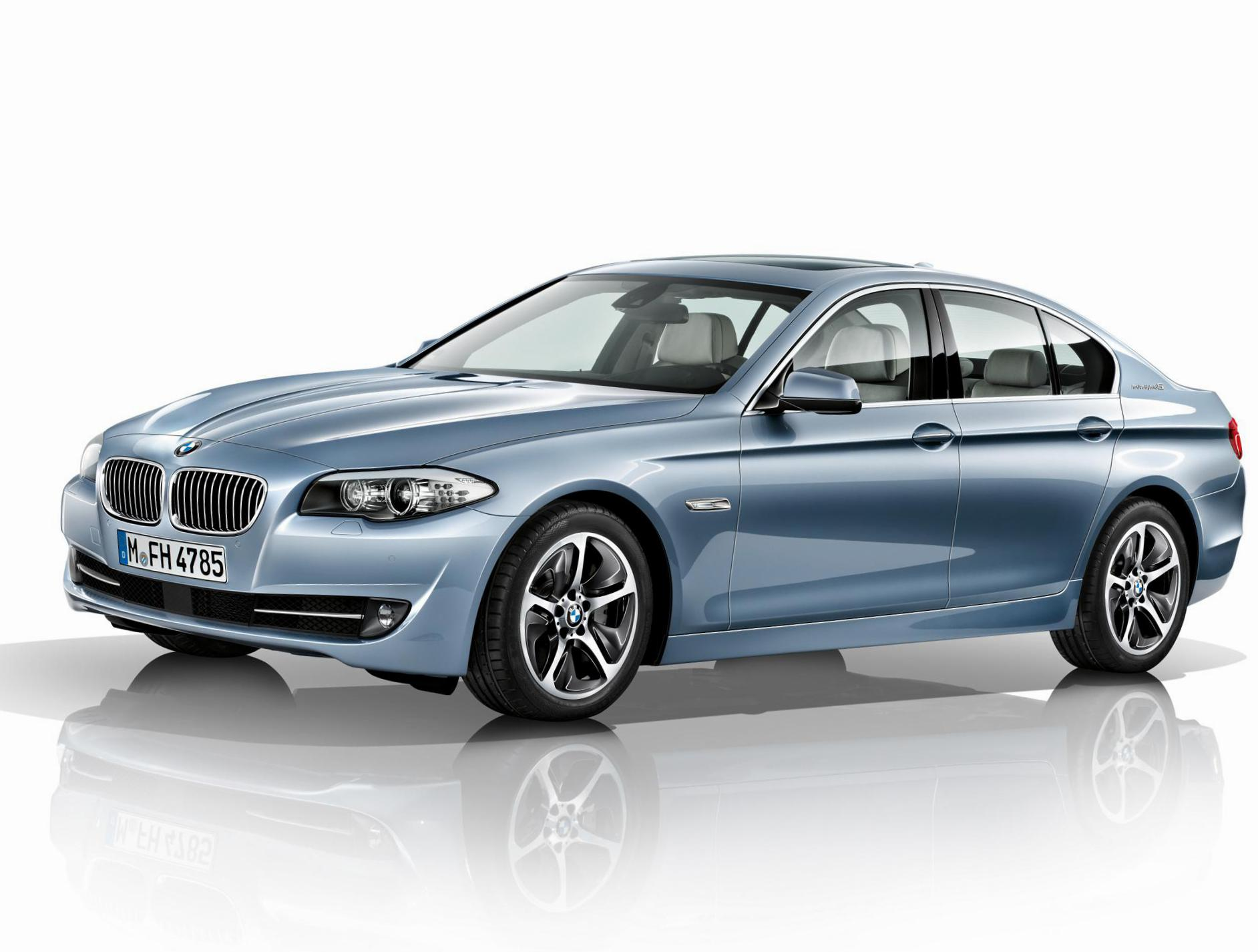 BMW ActiveHybrid 5 (F10) how mach 2009