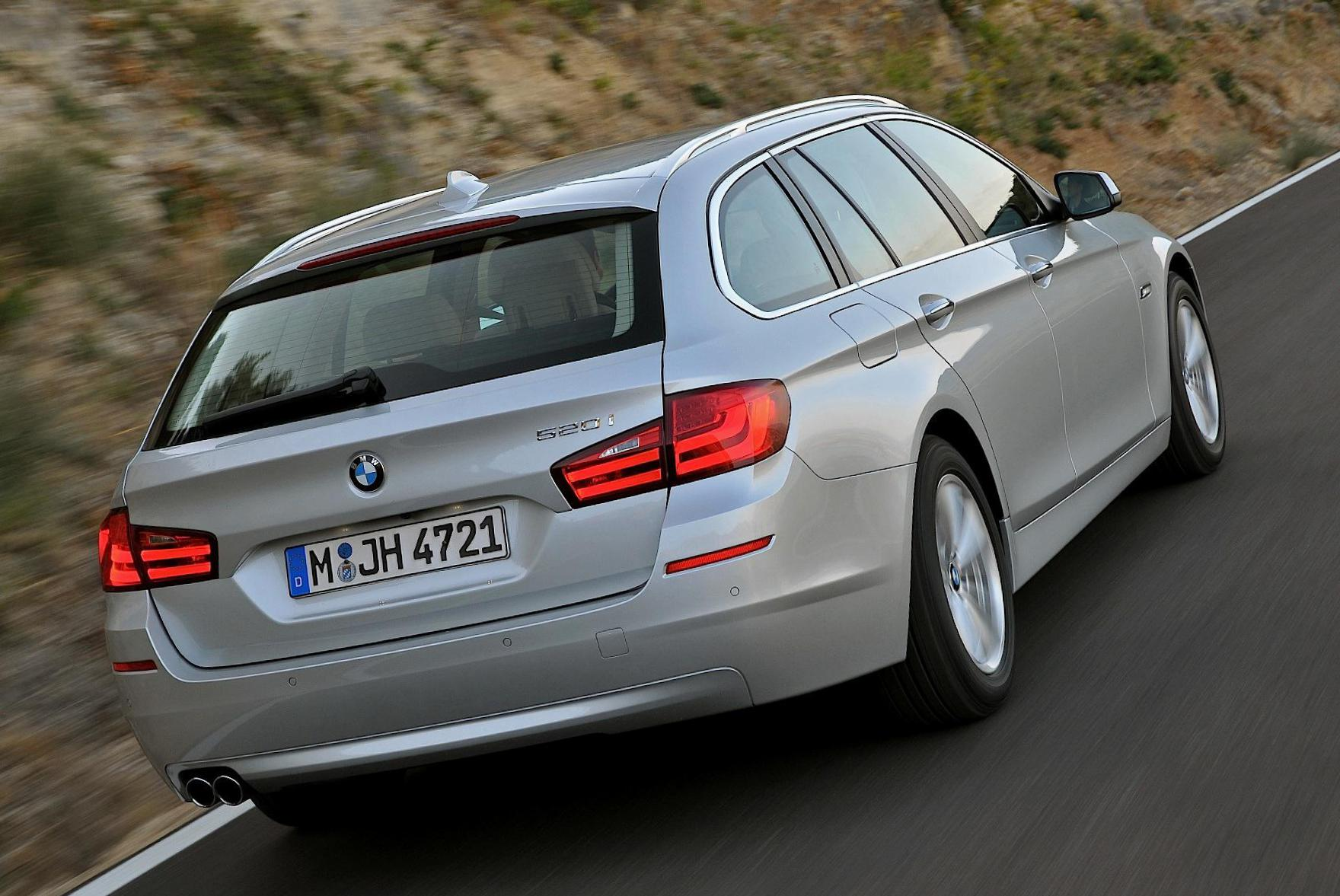 BMW 5 Series Touring (F11) reviews suv