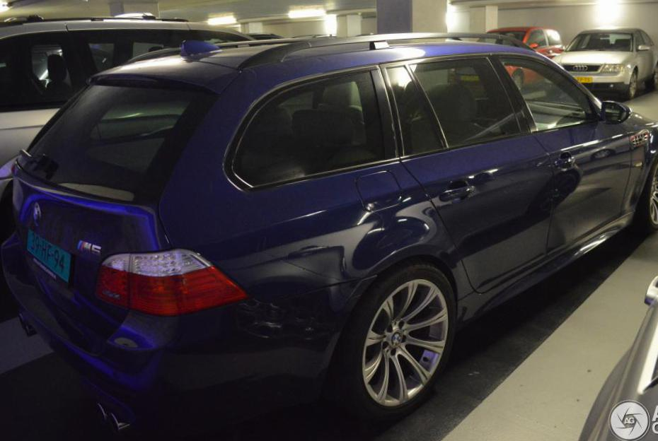 BMW M5 Touring (E61) tuning hatchback