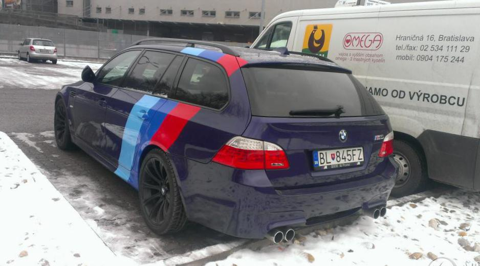 Bmw M5 Touring E61 Photos And Specs Photo M5 Touring E61 Bmw