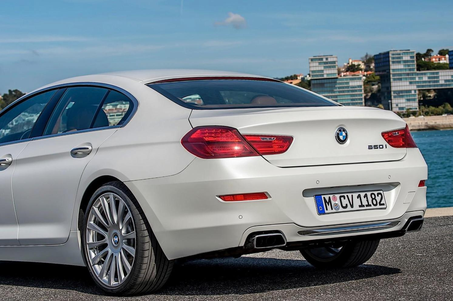 6 Series Gran Coupe (F06) BMW spec 2015