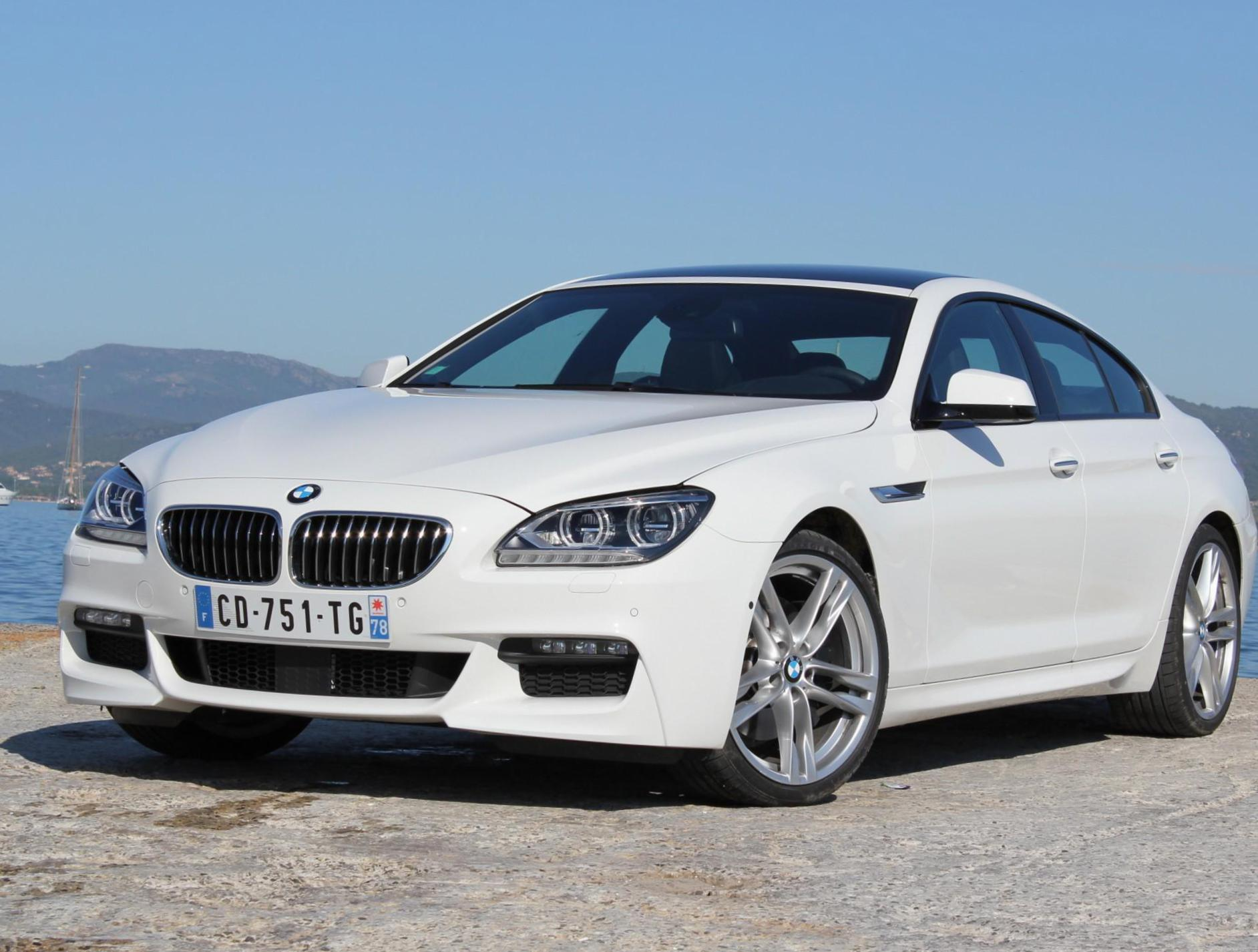 BMW 6 Series Gran Coupe (F06) spec 2013