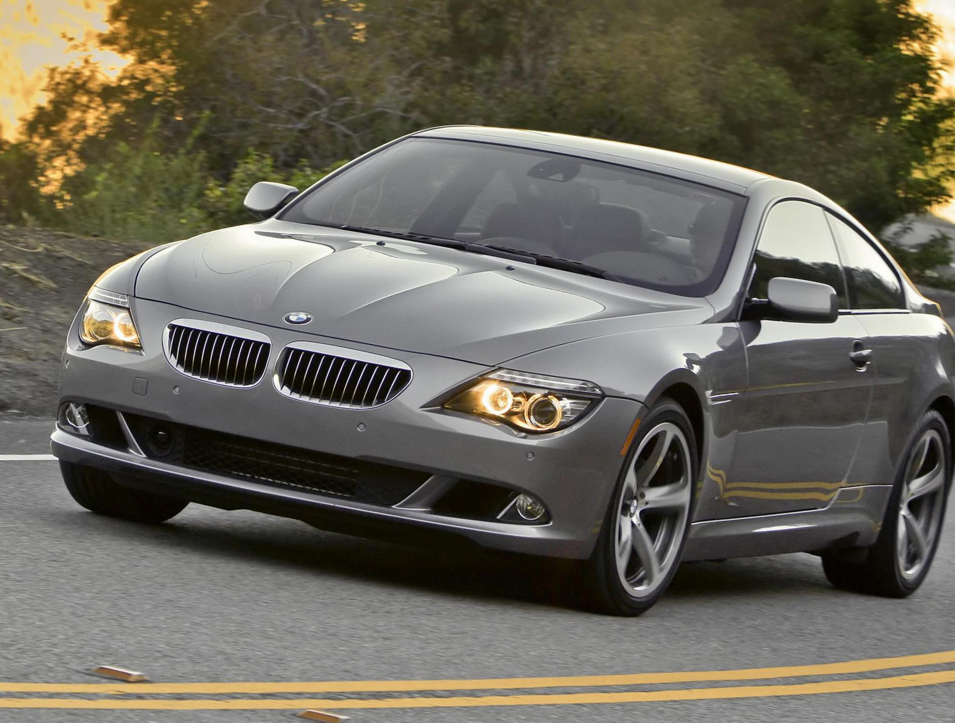 6 Series Coupe (E63) BMW concept hatchback