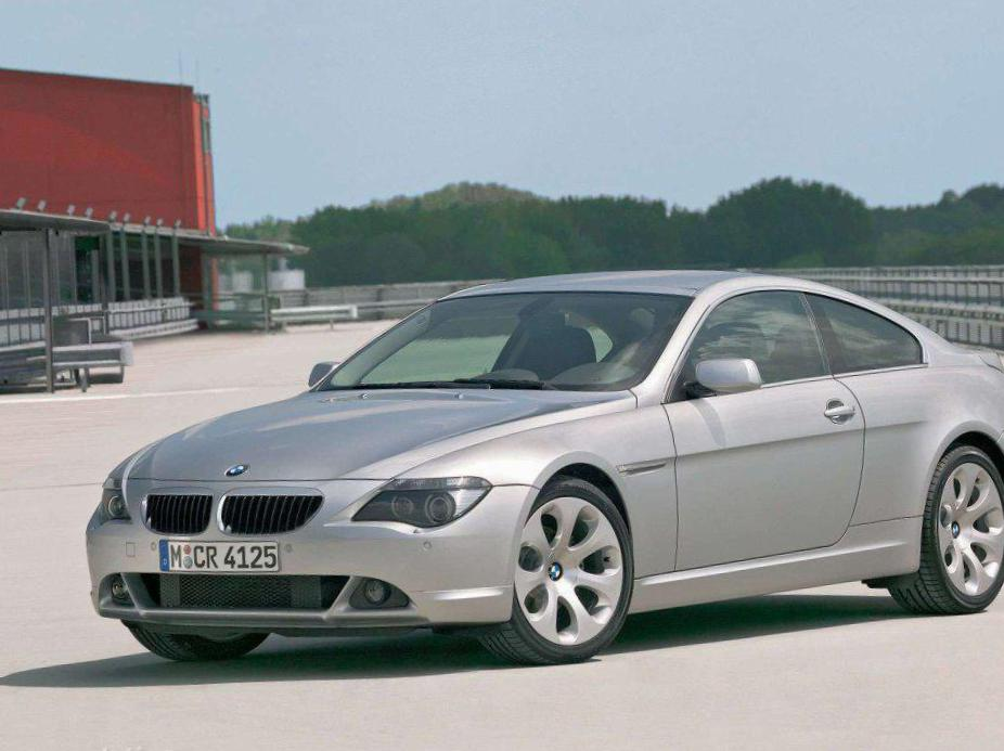 BMW 6 Series Coupe (E63) parts minivan