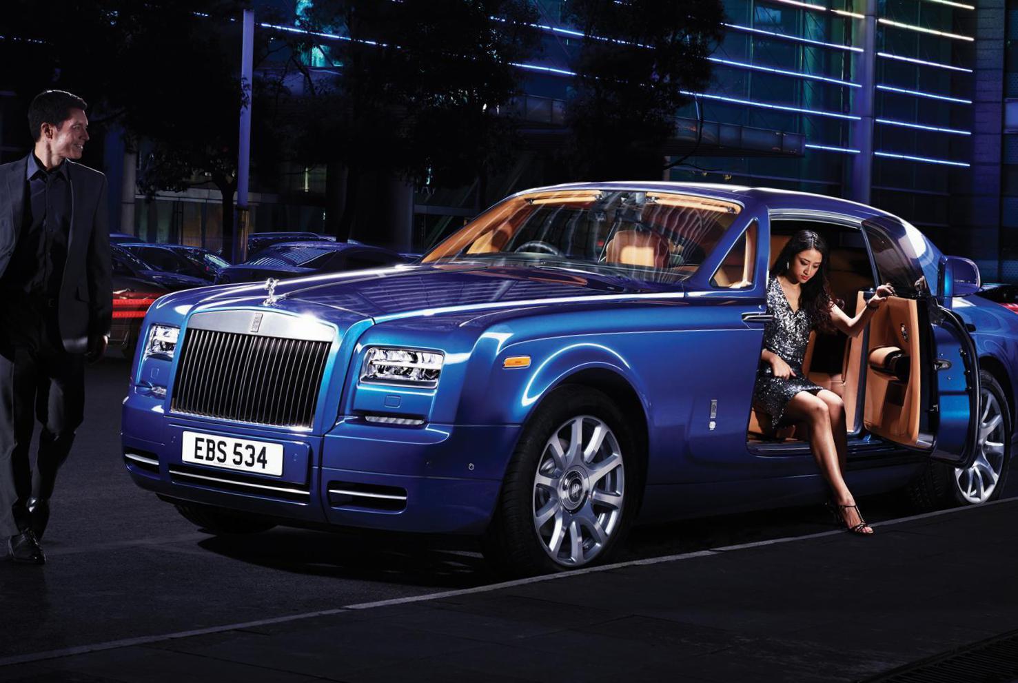 Phantom Rolls Royce Lease Hatchback