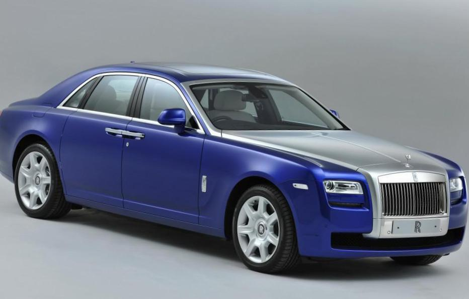 Rolls-Royce Phantom parts 2014